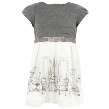 Девочки, Платье MAYORAL (серый)900181, фото