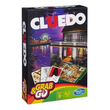 Игрушки, Настольная игра Клуэдо дорожная версия HASBRO 407928, фото