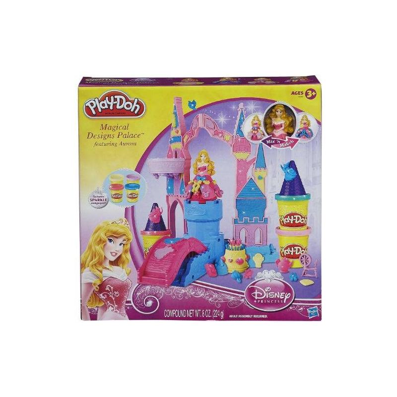 Play-Doh Игровой набор Чудесный замок Авроры hasbro play doh игровой набор замок мороженого с 3 лет