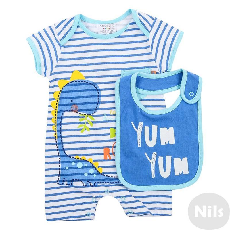 BABALUNO Комплект одеяло голубого цвета brums ут 00011819