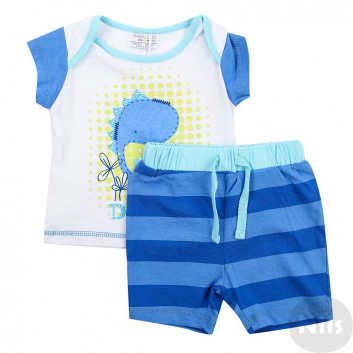 Малыши, Комплект BABALUNO (синий)609094, фото