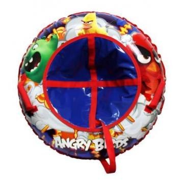Любимые герои, Тюбинг Angry Birds 85 см 1Toy (синий)682645, фото