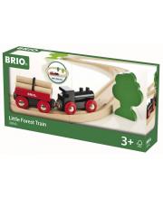 Железная дорога с грузовым поездом BRIO