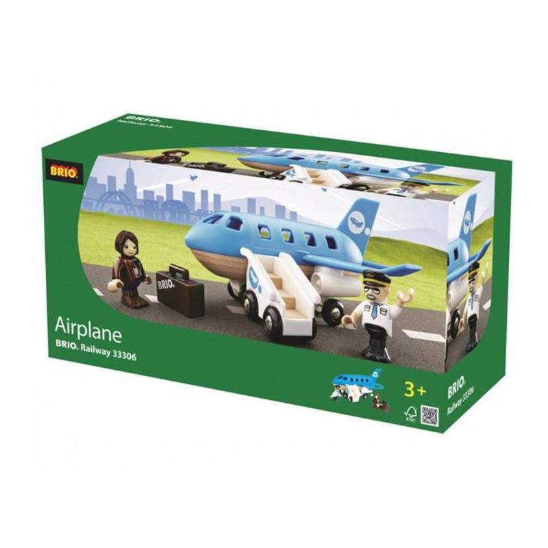 BRIO Игровой набор Самолетик с трапом