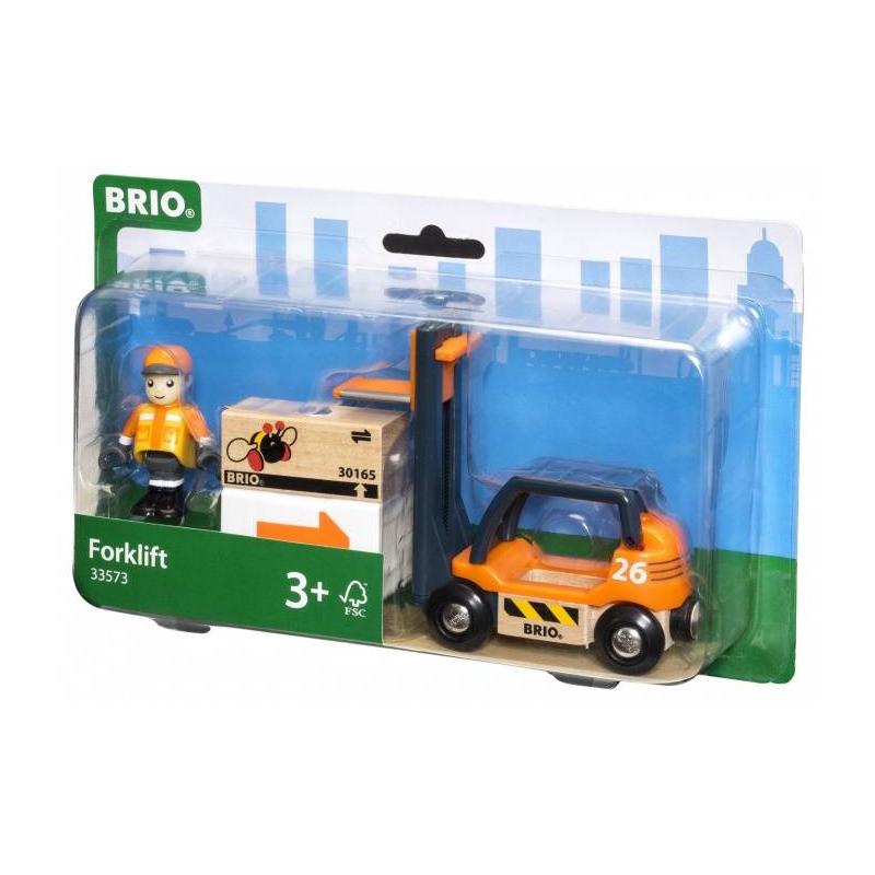 BRIO Погрузчик с подъемником