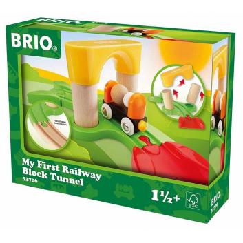 Игрушки, Мой первый железнодорожный тоннель BRIO 682717, фото