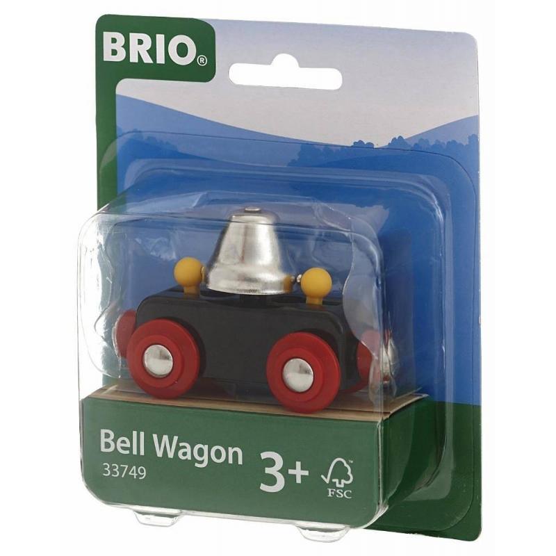 BRIO Вагончик с колокольчиком