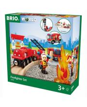 Игровой набор Пожарная станция BRIO