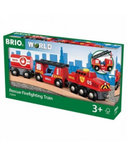 Пожарный поезд BRIO