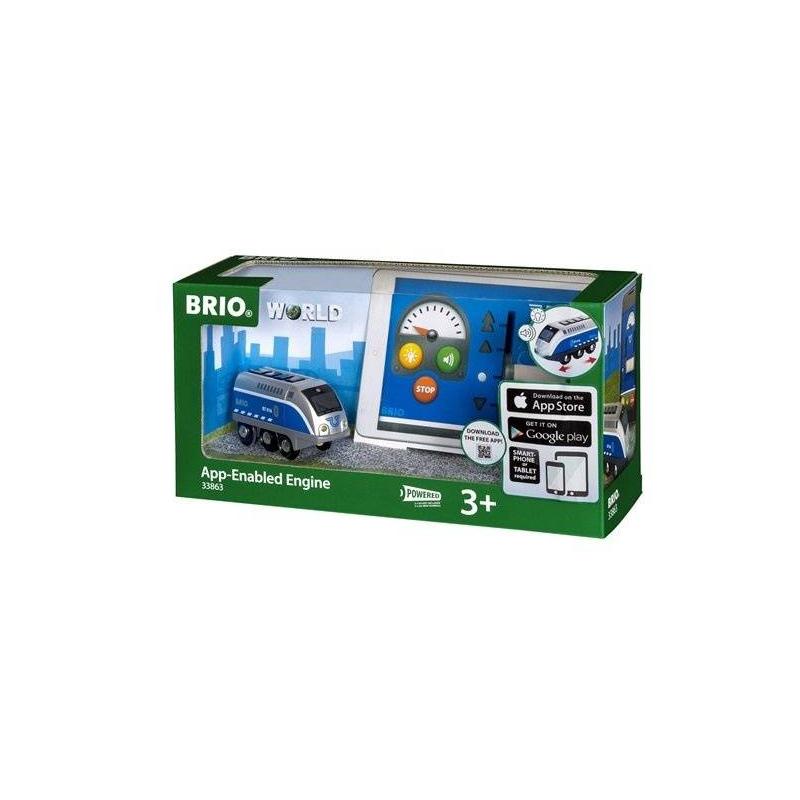BRIO Интерактивный паровозик brio паровозик день рождения