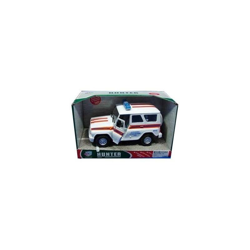Play Smart Машина инерционная УАЗ Hunter МЧС машины play smart автопарк инерционная машина грузовик мо р41437