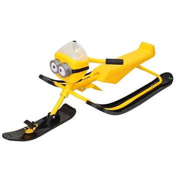 Спорт и отдых, Снегокат MINION Despicable ME yellow Snow Moto (желтый)409155, фото
