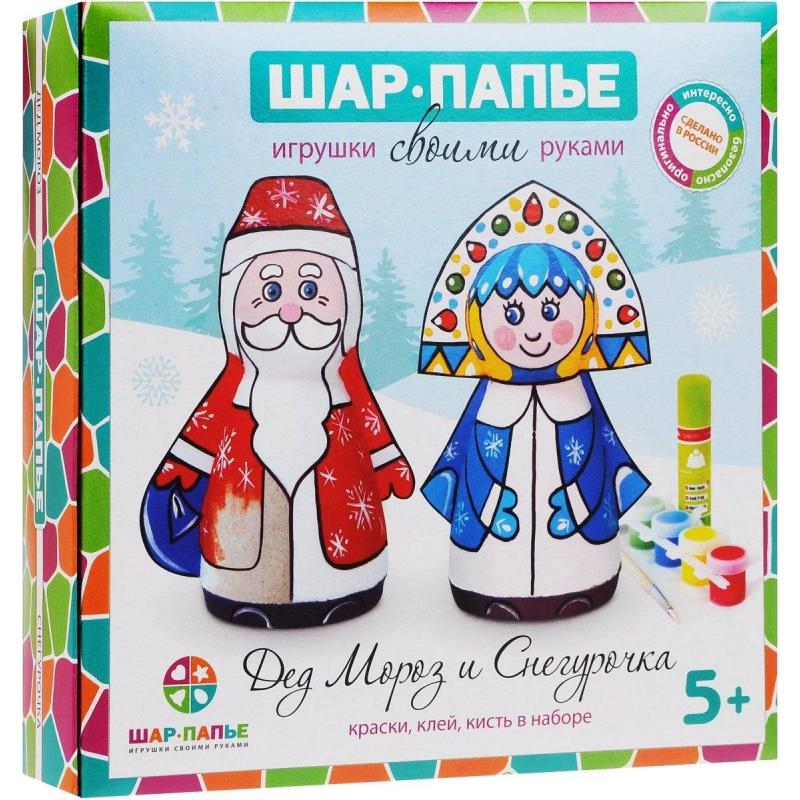Шар-папье Набор для творчества Дед Мороз и Снегурочка дед мороз игрушку 1950 1970г