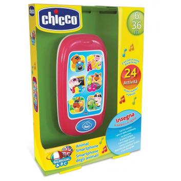 Игрушки, Развивающая игрушка Говорящий смартфон АВС Chicco 654233, фото