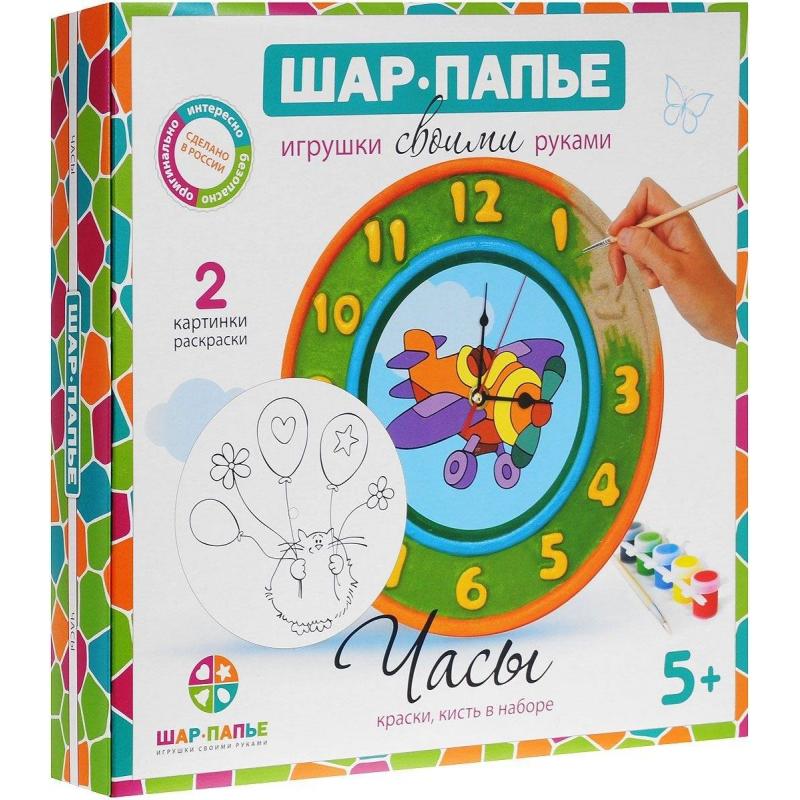 Шар-папье Набор для творчества Часы набор д детского творчества шар набор шар папье медвежонок