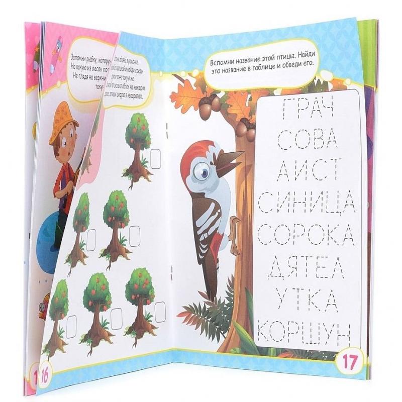 Развивающая книжка Тренируем память перед школой от Nils