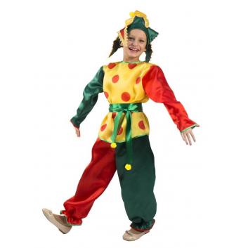 Девочки, Карнавальный костюм Петрушка Вестифика (желтый)415004, фото