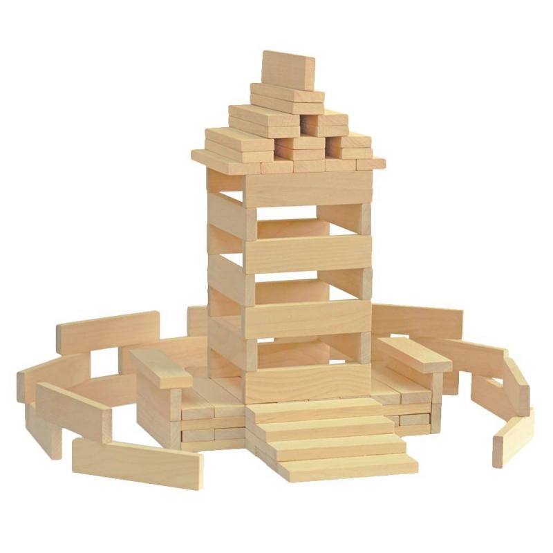 Краснокамская игрушка Конструктор Брусочки строительные краснокамская игрушка краснокамская игрушка конструктор строим сами неокрашенный