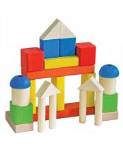 Деревянный конструктор Малыш Краснокамская игрушка