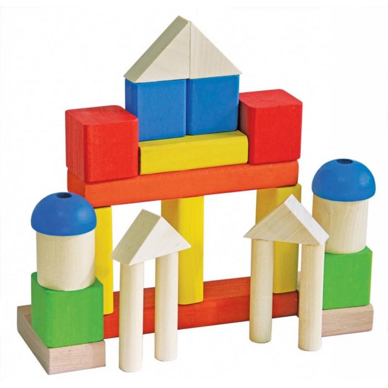 Краснокамская игрушка Деревянный конструктор Малыш краснокамская игрушка деревянный конструктор малыш