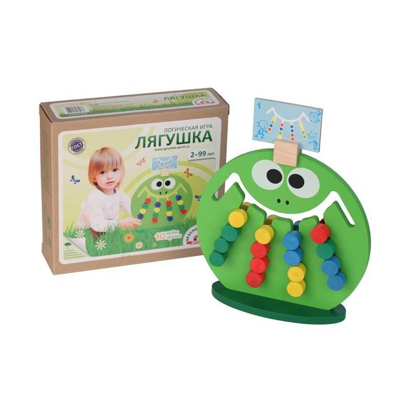 цены  Краснокамская игрушка Логическая игра Лягушка