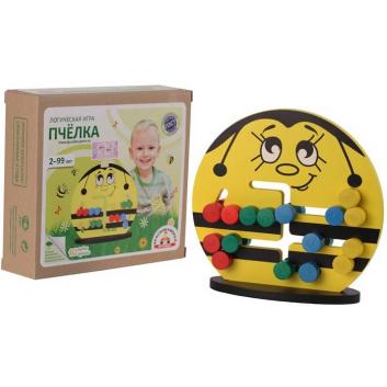 Игрушки, Логическая игра Пчелка Краснокамская игрушка 659601, фото