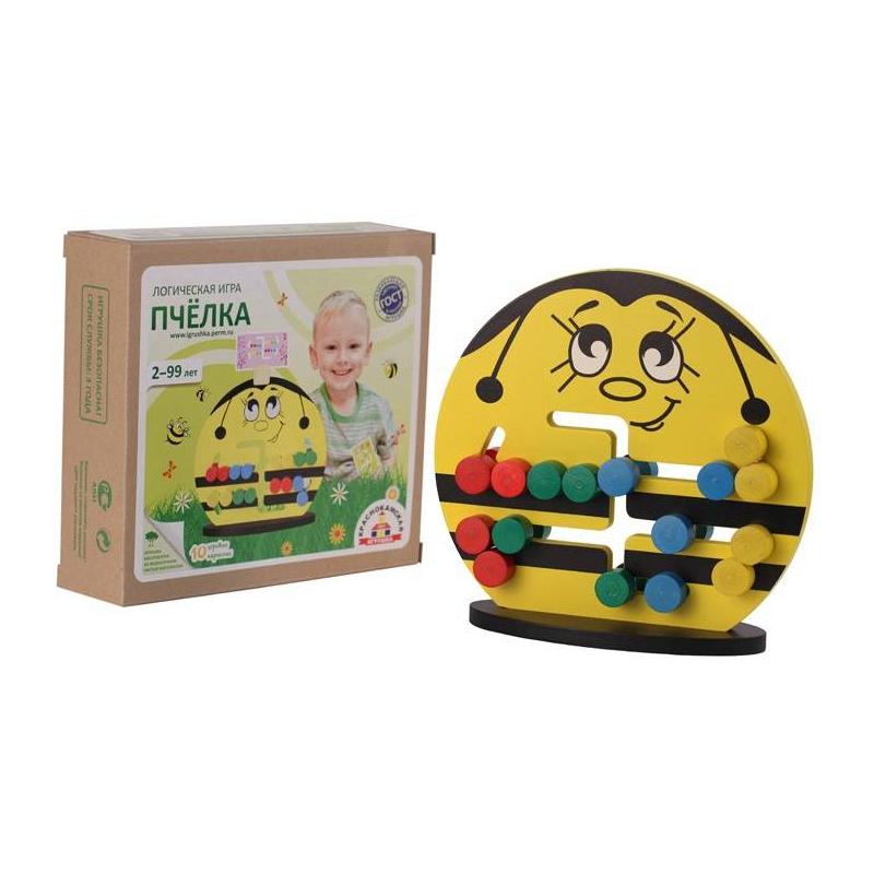 Краснокамская игрушка Логическая игра Пчелка логическая игрушка краснокамская игрушка ли 01 лягушка