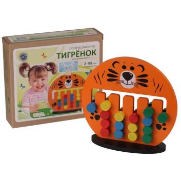 Игрушки, Логическая игра Тигренок Краснокамская игрушка 659602, фото