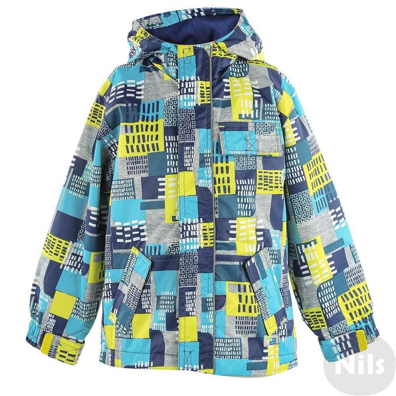 КурткаКурткамарки DEUX PAR DEUX для мальчиков изготовлена из высокотехнологичного дышащего материала с водо- и грязеотталкивающим тефлоновым покрытием, без утеплителя.Куртка с капюшоном на флисовой подкладкеимеет четые кармана на липучках, три спереди и один потайной. Рукава на липучках для лучшего прилегания к запястью.В комплект входит флисовая шапочка.<br><br>Размер: 4 года<br>Цвет: Синий<br>Рост: 104<br>Пол: Для мальчика<br>Артикул: 609801<br>Страна производитель: Китай<br>Сезон: Весна/Лето<br>Состав: 100% Полиэстер<br>Состав подкладки: 65% Полиэстер, 35% Хлопок<br>Бренд: Канада