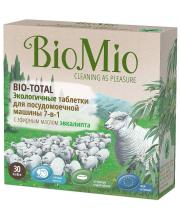 Таблетки для посудомоечной машины Bio-Total 30 шт BioMio