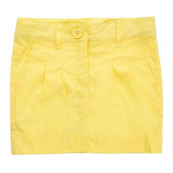 Девочки, Юбка Button Blue (желтый)636362, фото